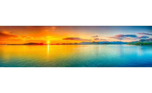 Серия Панорамы. Закат над морем (PN0002)