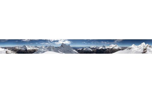 Серия Панорамы. Снежные горы (PN0016)