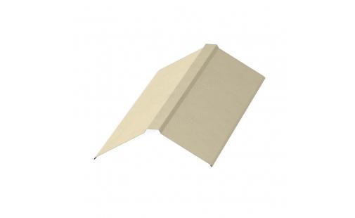 Планка конька плоского МеталлПрофиль 190х190