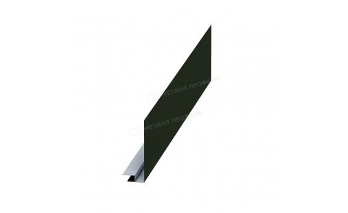 Планка карнизного свеса сложная МеталлПрофиль 185х50