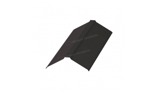 Планка конька плоского простая МеталлПрофиль 145х145