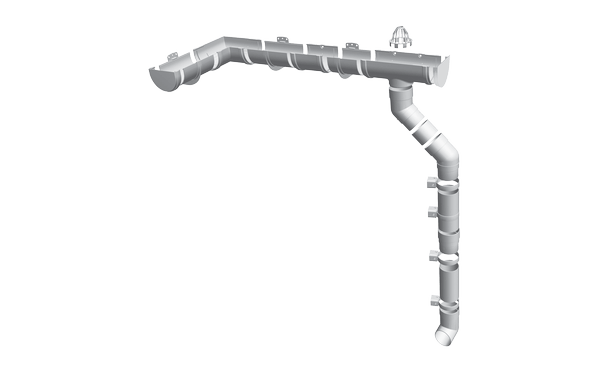 Пластиковые водостоки Docke PREMIUM