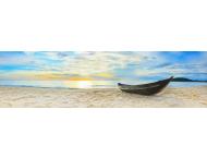 Серия Панорамы. Лодка на белом песке (PN0018)