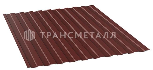 коричнево-красный профлсит